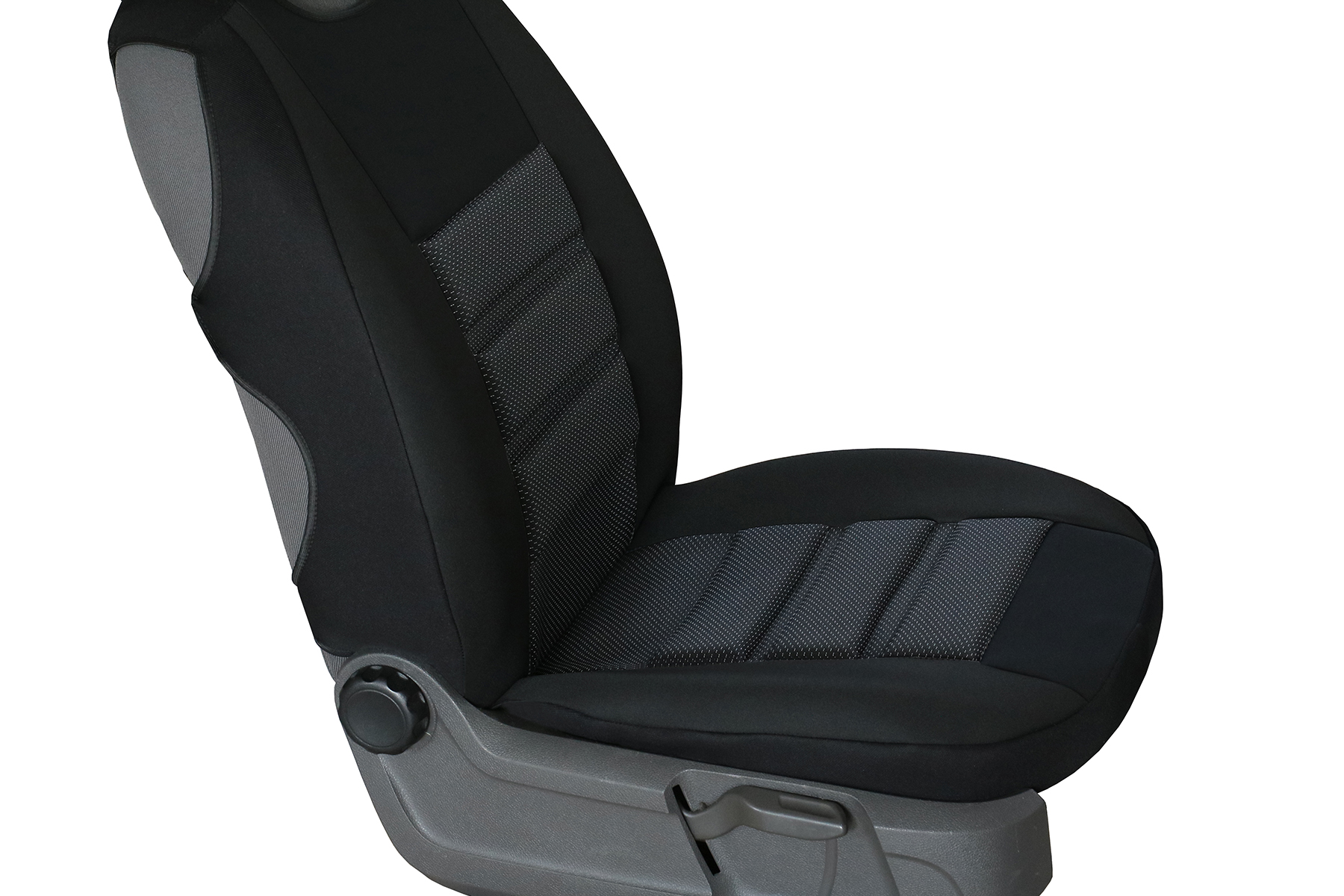 Sitzbezüge grau vorne PRA MERCEDES A